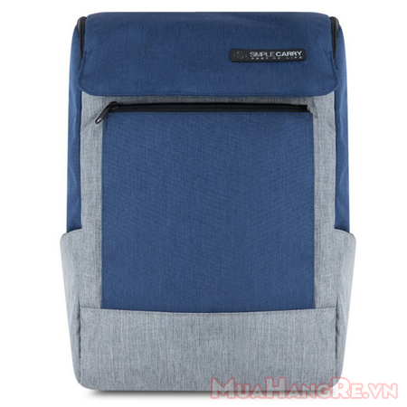 Balo-simplecarry-k1-navy-grey-2