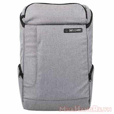 Balo-simplecarry-k5-grey-2