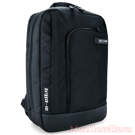 Balo-simplecarry-m-city-black-1