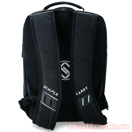 Balo-simplecarry-m-city-black-3