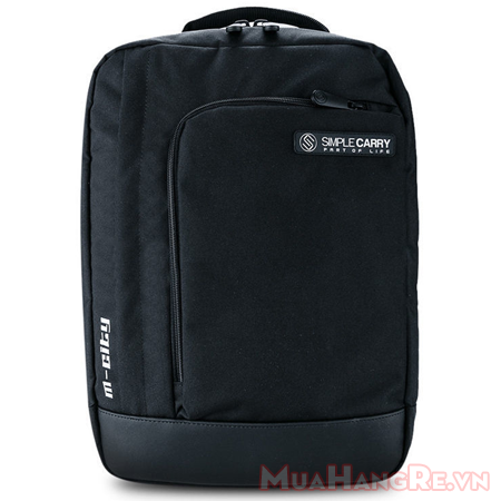 Balo-simplecarry-m-city-black-8