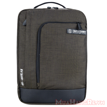 Balo-simplecarry-m-city-brown-2