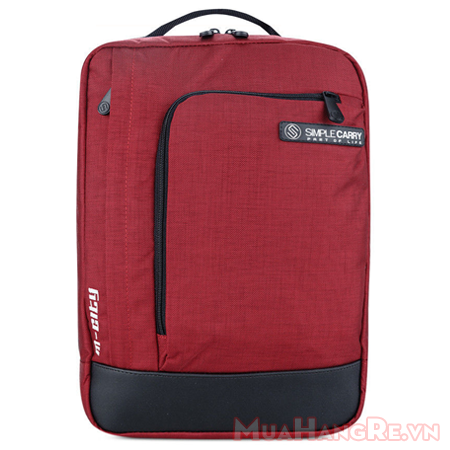 Balo-simplecarry-m-city-red-2