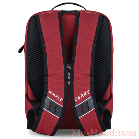 Balo-simplecarry-m-city-red-3