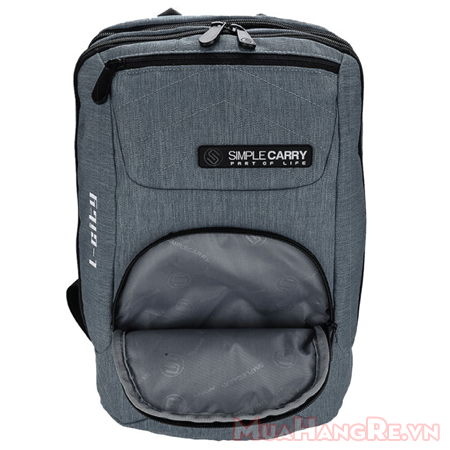 Balo-simplecarry-l-city-grey-4