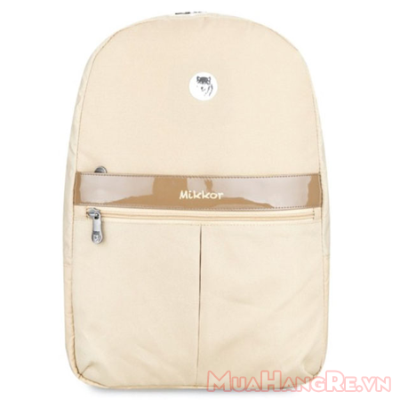 Balo-Mikkor-Editor-backpack-brown-cream-1