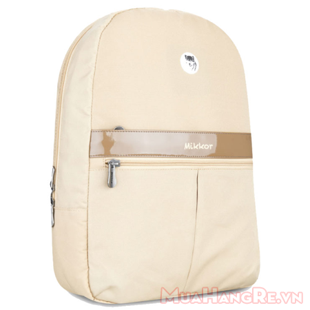 Balo-Mikkor-Editor-backpack-brown-cream-2