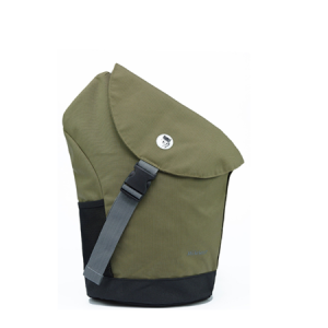 Balo Mikkor Roady Sling Backpack khaki chinh hang